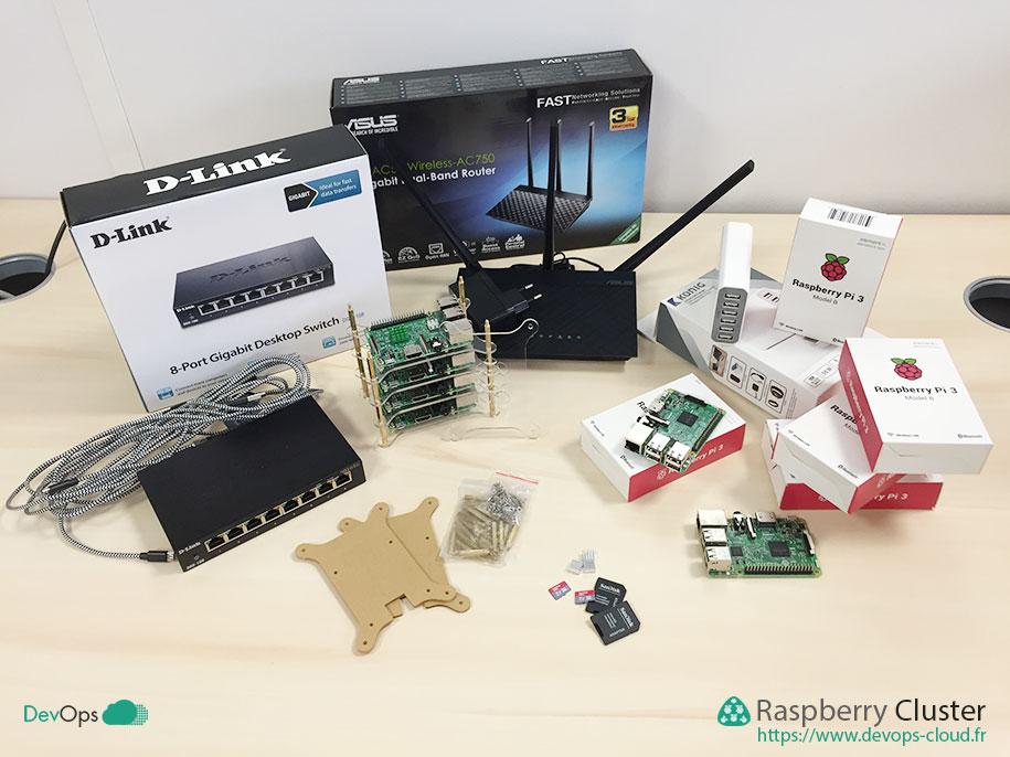 Raspberry Cluster - matériel