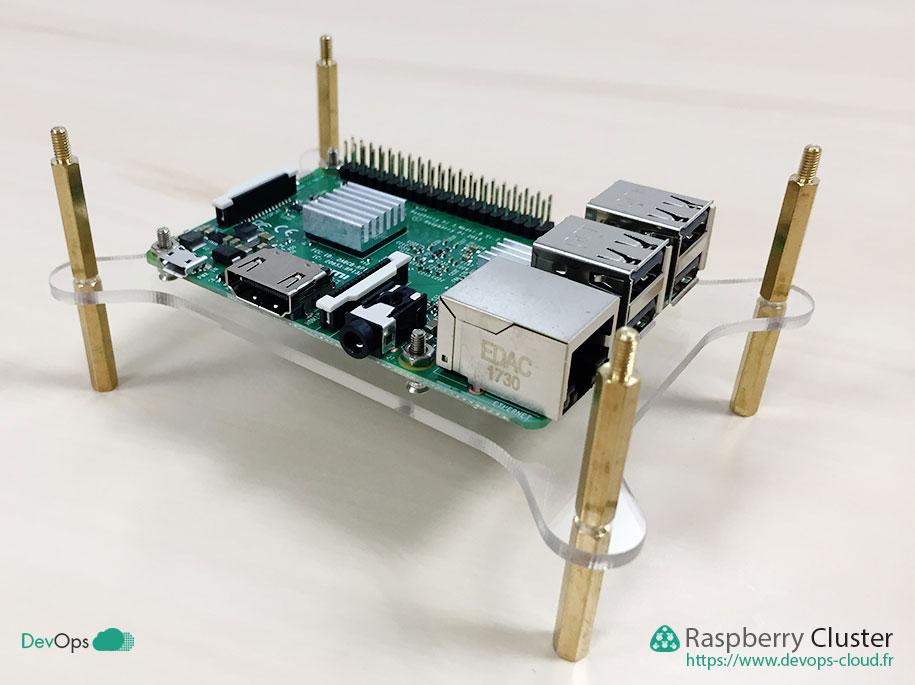 Raspberry Cluster - montage d'un étage