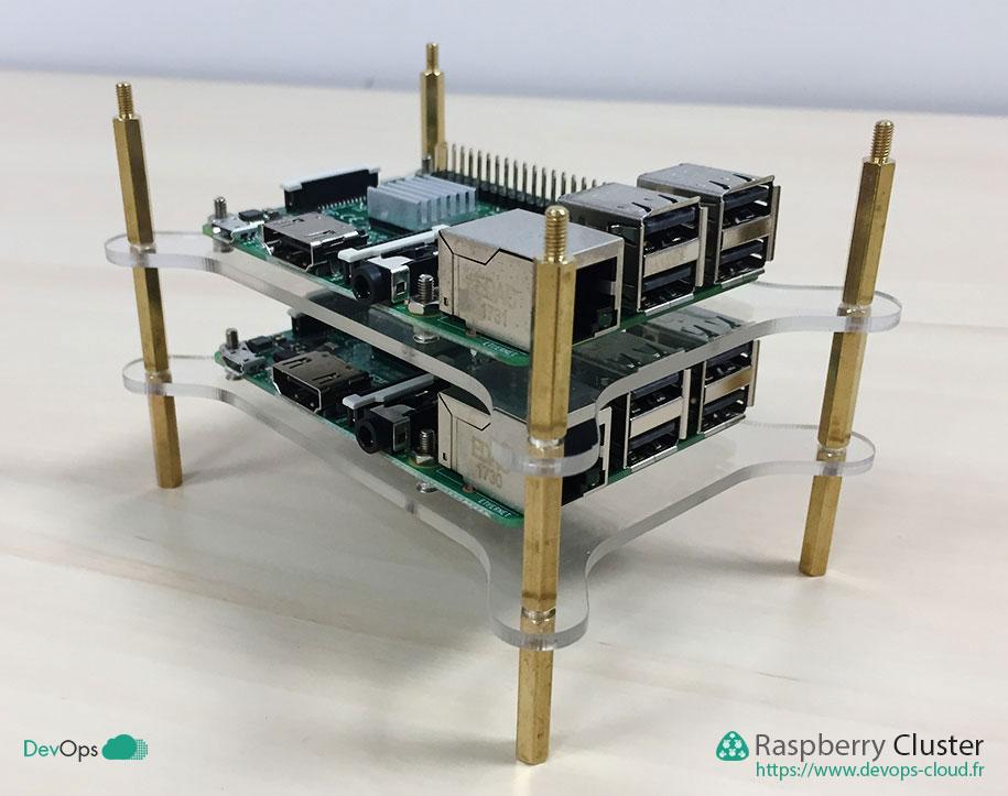 Raspberry Cluster - montage des étages suivant