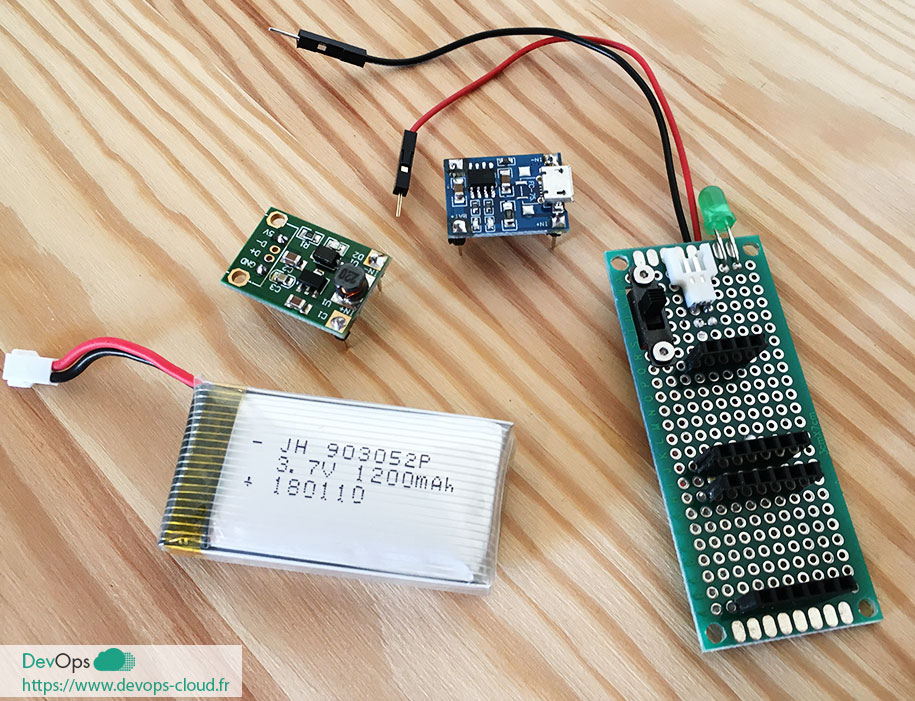 IoT-S01E01-03 Montage de l'alimentation