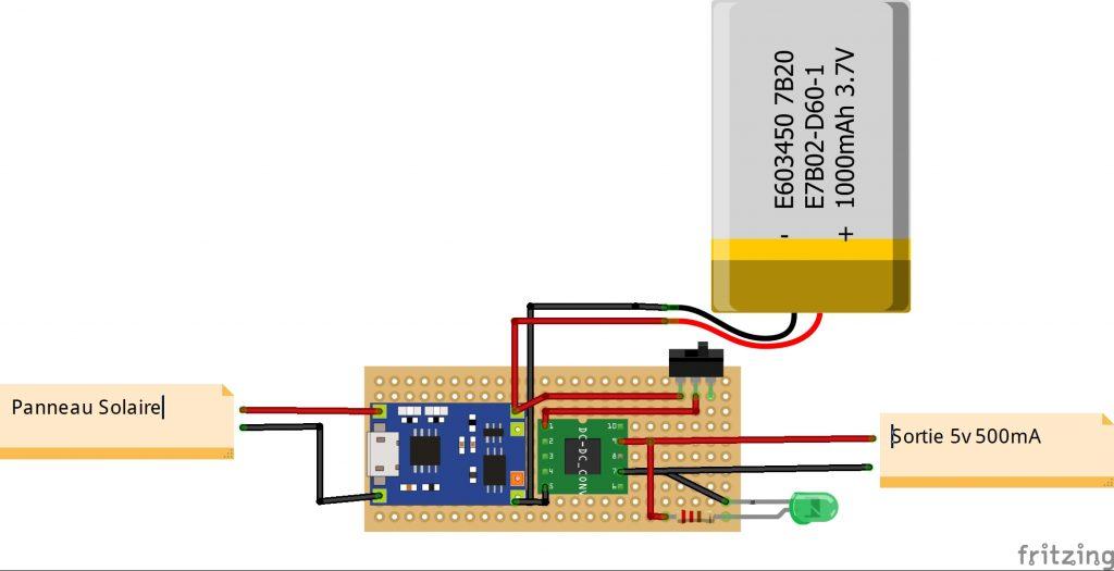 IoT Schéma Alimentation Batterie Out5v 500mA_bb